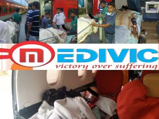 Medivic Aviation Air and Train Ambulance Services in Delhi and Bhopal