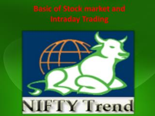 Basic of Stock market and Intraday Trading.pptx