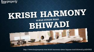 Krish Harmony in Alwar Bypass Road, Bhiwadi - BuyProperty