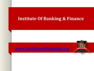 pg diploma in banking and finance