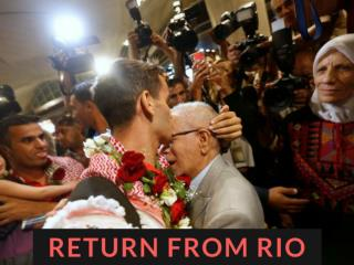 Return from Rio