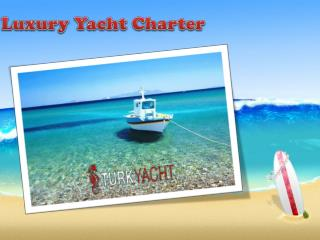 Boat Yacht Charter