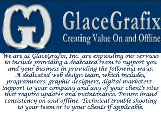 Web Development service Available at Glace Grafix