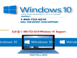 Microsoft Windows 10 Technical Support Phone Number