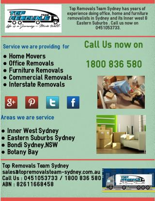 Top Removals Team Sydney