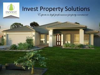 Property investment solutions