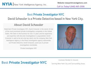 Private Investigators in New York City