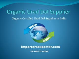 Organic Urad Dal Buyers in India