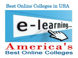 Best Online Colleges in USA