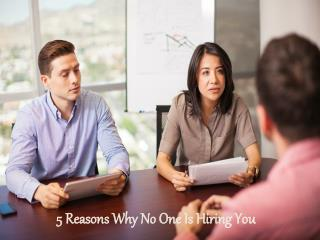 William Almonte DUI - 5 Reasons Why No One Is Hiring You