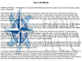 Your Life Movie