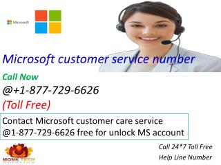Dial Free Microsoft customer care service 1-877-729-6626 Number | for Free courses classes