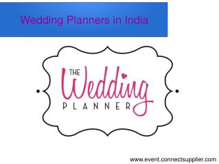 Wedding Planners in India
