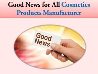 Best Consultant for Cosmetics Registration in India