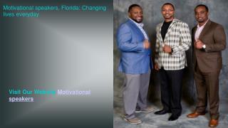motivational speaker florida