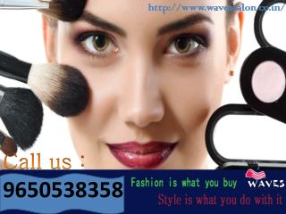 Distinctive makeup studio in Noida serve most prevailing styles in hair & skin trend call on  91-9650538358
