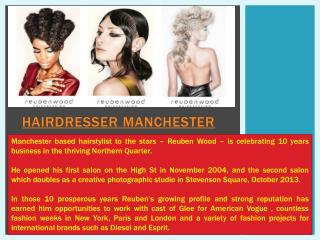 Hairdresser in manchester