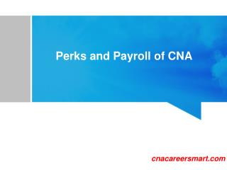 Certified Nursing Assistant (CNA) salary information | Payroll of CNA