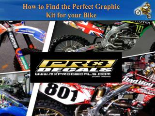 How to Find the Perfect Graphic Kit for your Bike