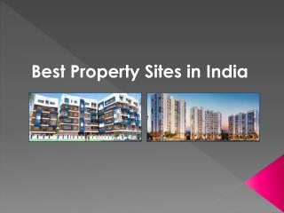 residential properties in India