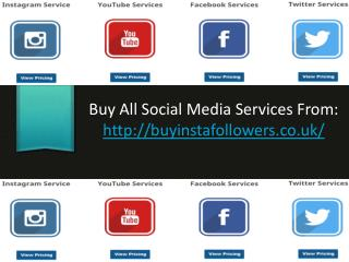 Get real and cheap social media services provide