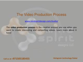 The video production process - Mind Spirit Design LLC