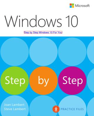 Step by Step Windows 10 For Your Computer