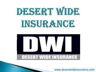 Cheap car Insurance - Desert Wide Insurance
