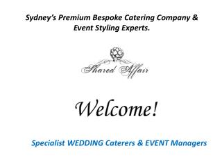 Wedding Reception Catering Services Will Be Remembered For Long