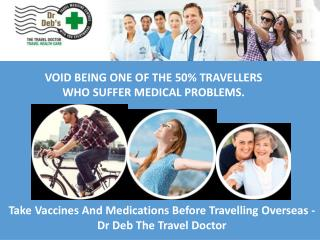 Take Vaccines And Medications Before Travelling Overseas - Dr Deb The Travel Doctor