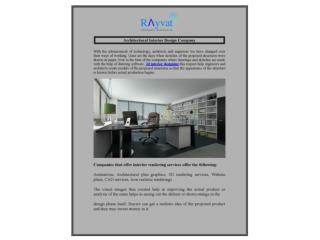 Architectural Interior Design Company