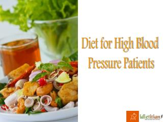 Diet For High Blood Pressure Patients