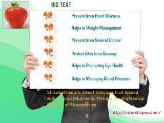 Health Benefits of Nutrient Rich Strawberries