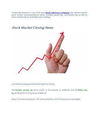 Profitable Trading Tips By Best Stock Advisory Company