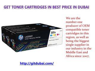 Get Toner Cartridges in best Price in Dubai
