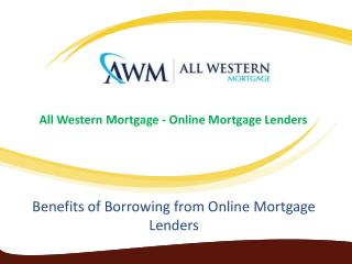 Access to Calculators and other tools for Online Mortgage Lenders