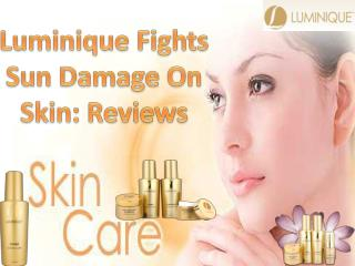 Luminique Fights Sun Damage On Skin: Reviews