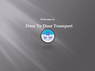 Door to Door Transport