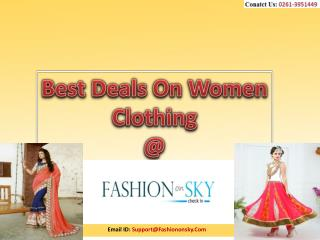 Best Current Deals on Women Clothing