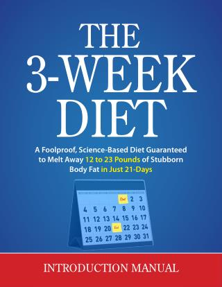 The 3week Diet