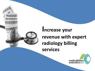 Increase your revenue with expert radiology billing services