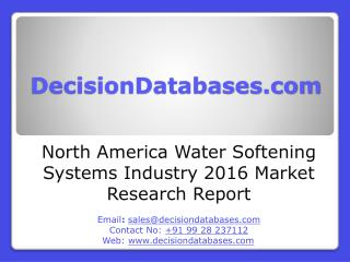 North America Water Softening Systems Industry 2016 Market Research Report