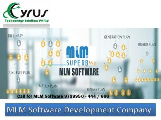 Cyrus - MLM Software Development Company in India