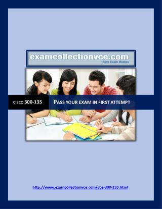 Examcollection 300-135 Questions Answers