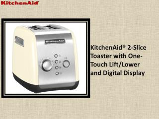 KitchenAid® 2-Slice Toaster with One-Touch Lift/Lower and Digital Display
