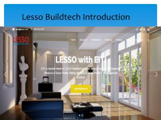 UPVC Casement Window - Lesso Buildtech