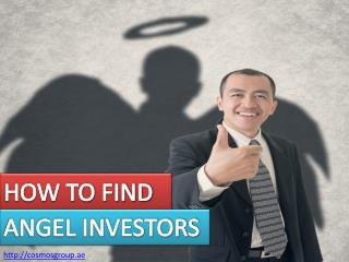How to Find a Angel Investors for Business Startup - Cosmos Group