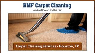 Carpet Cleaning Services - Houston, TX