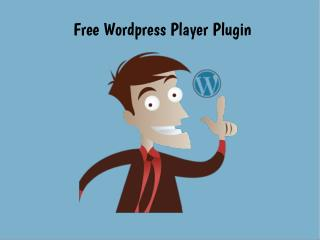 Free Wordpress Player Plugin