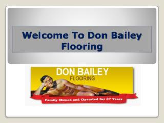 Don bailey flooring fl